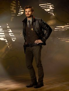 Promotional images of Jamie Dornan as Sheriff Graham on ABC's 'Once Upon A Time'! (Source: Jamie Dornan Online ) And his scenes in the. Jamie Dornan, Graham Once Upon A Time, Cristian Grey, Fifty Shades Movie, Fifty Shades Of Grey, Sheriff, My Guy, Good Looking Men, Movies