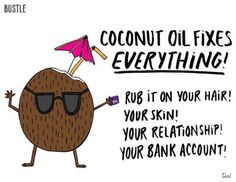Sometimes the Internet beauty advice that sounds the craziest is actually the most genius (case in point: Monistat as makeup primer). But coconut oil as natural deodorant? Coconut Oil Hair Treatment, Coconut Oil Hair Growth, Coconut Oil Hair Mask, Coconut Oil For Skin, Coconut Sugar, Coconut Oil Deodorant, Natural Deodorant, Natural Coconut Oil, Coconut Oil Uses