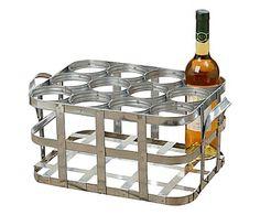 Porte-bouteilles SAMY, argenté - L45 45€