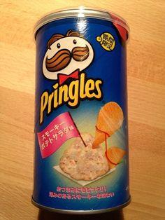 "Pringles ""Smokey Potato Salad Flavor"", 53g, ¥248"