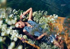 Floral dreams: beauty above waters - Fashionising.com