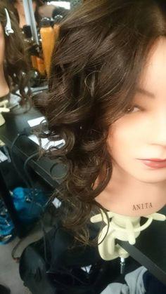 Tong curls