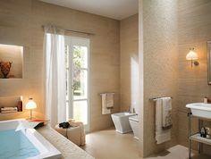 badgestaltungsideen fliesen beige verschiedene texturen fap ceramiche