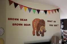 Brown Bear Brown Bear birthday party