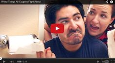Weird Things All Couples Fight About -