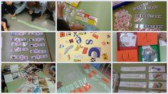 Un polsim de sal: El racó d'intel·ligència lingüística Preschool Activities, Language, Writing, Reading, Scrappy Quilts, Phonological Awareness, School Supplies, Initials, Eggs