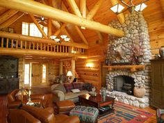 A custom log home definitely fits in the Northwoods of Wisconsin. This one is a design build home and located North in the Eagle River, WI near Phelps. If you like this home click on the link below for more pictures of it. - John  -  http://pinterest.com/northtwinbuild/ntb-hand-scribed-log-lake-home-in-phelps-wi/