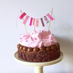 Homemade Birthday Cakes, Homemade Cakes, Drip Cakes, Cake Shop, Buttercream Cake, Party Cakes, Cupcake Recipes, Let Them Eat Cake, No Bake Cake