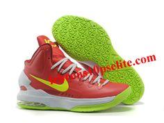 watch 41b95 4e802 Nike Zoom KD V Shoes Red White Green Lebron 11, Nike Lebron,