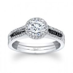 Barkev's Diamond Bridal Set 7875SBKW