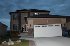 This gorgeous 5 year old custom built two-storey house was built by A&S homes with 2300 sq. ft of living space.Walk into this home that boasts a great wide open plan with formal dining room, open concept kitchen with island and granite counter tops and an abundance of cabinets with dinette facing the deck. 1 bedroom on main floor and 1 full bath. 3 bedrooms up and 2 full bath. Master bedroom has 5 piece ensuite with 2 person whirlpool tub, glass surround shower and double vanity sinks with…