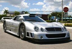 2000 Mercedes Benz CLK GTR - 1 of 25 built with a top speed of 234 mph : )