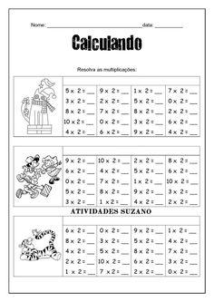 Education English, Kids Education, Multiplication, Kids Study, Math Books, School Worksheets, Math Class, Math For Kids, English Lessons