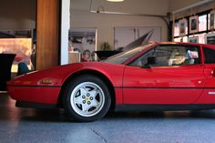 The Ferrari 308 from the profile at the Garage 77 in Los Angeles Ferrari, Garage, Profile, Cars, Carport Garage, User Profile, Autos, Garages, Car