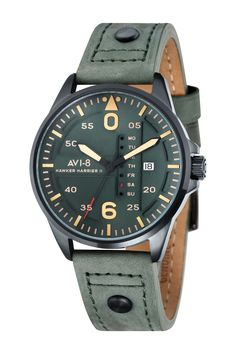 Unisex Hawker Harrier II Custom Dress Watch on HauteLook Dream Watches, Cool Watches, Watches For Men, Men's Watches, Wrist Watches, Jewelry Watches, Watch Brands, Unisex, Manish