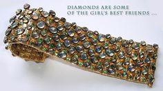 Marilyn F. Cooperman's 18kt gold & moonstone bracelet...Impressive!