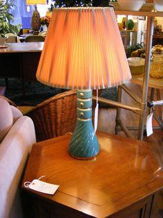 Aqua Buttons Table Lamp! — at Retro Kalamazoo.