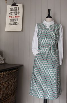 Bungalow Dress - Old Town Clothing - classic British workwear - Holt, Norfolk, England