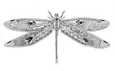 EarthArt International Clear Stamps by Sue Coccia DRAGONFLY $12.99/each