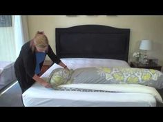 The effortless way to put on a quilt cover - YouTube