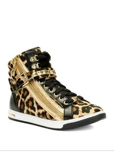 Micheal Kors cheetah hightops want!
