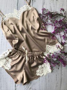 Lingerie 2019 - Estilo Próprio by Sir Cute Sleepwear, Sleepwear Women, Pajamas Women, Lingerie Sleepwear, Nightwear, Pretty Lingerie, Beautiful Lingerie, Sexy Lingerie, Sewing Lingerie