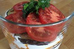 Auberginen-Tomaten-Schichtsalat 2