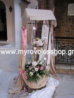 myrovolos : βάπτιση αγία Παρασκευή Παλατιανής 4, θέμα VINTAGE κοριτσιού με ρομαντικά αντικείμενα και εξαιρετικά άνθη