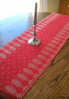 Thistle Rose Weaving: Swedish Christmas Trees In The Snow