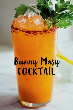 A Bloody Mary #cocktail made with Carrot Juice? Sign us up.