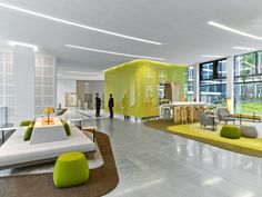 1960's Paris Office Complex Gets an Electrifying Update by Saguez Workstyle