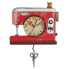Image of Sewing Machine Clock