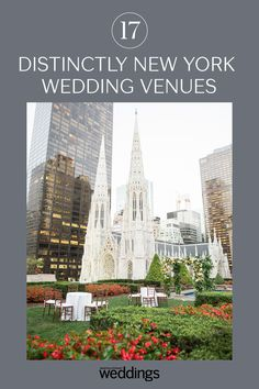 Click to see some of the best wedding venues for New York City weddings. These big city wedding venues are perfect inspiration for any city wedding. #Wedding #WeddingVenue #CityWeddingVnue #NewYorkCity #NYC #NewYorkCityWeddingVenues #CityWedding #BigCityWedding #WeddingInspiration | Martha Stewart Weddings