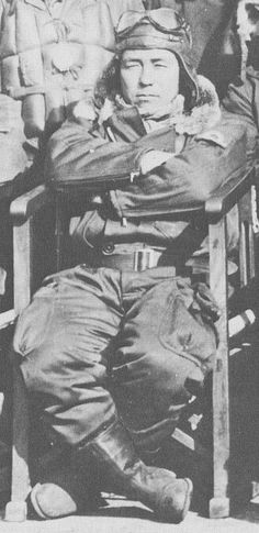 Japanes ace fighter Saadaki Akamatsu