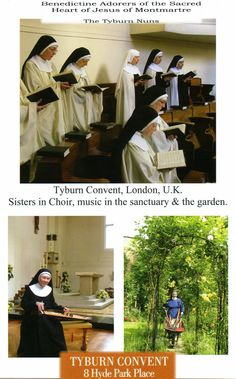 The Adorers of the Sacred Heart of Jesus of Montmartre, OSB is a Catholic order of Benedictine nuns, often known as Tyburn Nuns.