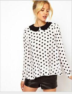 27 Best Black And White Blouse Images Black White Blouse Fashion