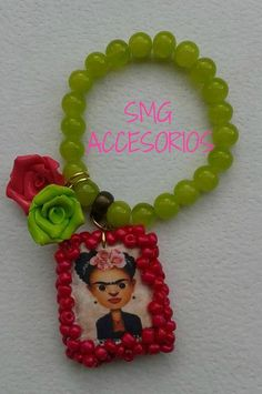 #pulseras#bracelets#Frida#Escapulario#Mexico  www.facebook.com/saidimgaccesorios
