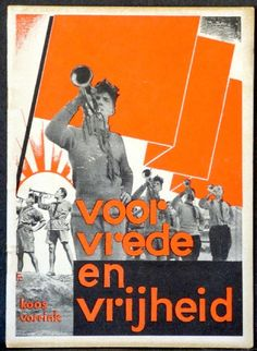 [Fré Cohen] Koos Vorrink: Voor vrede en vrijheid, ajc, 1932