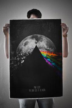 Pink Floyd - Dark Side of the Moon Poster