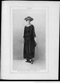 * robe d'après-midi Dimitrios 1917 Jeanne Lanvin Jeanne Lanvin, Fashion Photo, Ruffle Blouse, Culture, Photos, Design, Women, Woman, Pictures