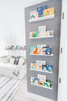 Fantastic baby nursery information are readily available on our site. look at this and you wont be sorry you did. Blue Bedroom, Girls Bedroom, Bedrooms, Book Ledge, Baby Kicking, Fantastic Baby, Project Nursery, Baby Boy Nurseries, Modern Nurseries