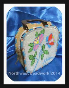 Beaded purse, Northwest Beadwork (Nez Perce) on Etsy or Facebook