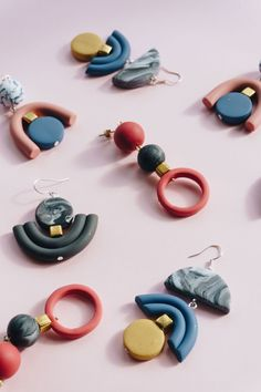 Wow ❤ Tolle Ohrringe basteln | DIY Jewelry | Spring inspired handmade jewelry by iebis.