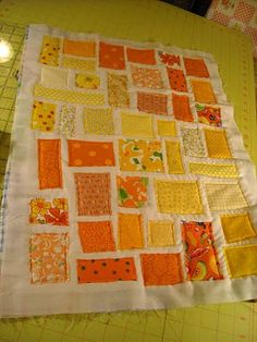 karens crafty world: Ticker Tape Quilts