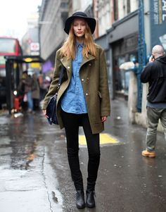 * Leaving My Clothes *: London street style