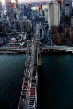 "I see Brooklyn Bridge in ""Gangs of New York"". The Brooklyn Bridge is the most famous bridge of New York."