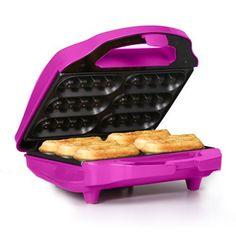 Holstein Housewares HF-09015M Fun Waffle Stick Maker, Magenta - http://sleepychef.com/holstein-housewares-hf-09015m-fun-waffle-stick-maker-magenta/