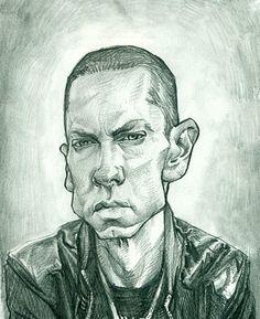 Eminem Caricature