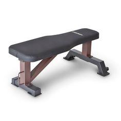 Steelbody Flat Weight Bench, Black