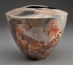 Alex Mandli - Pit fired pottery (White earthenware clay, burnished, terra siggliata)